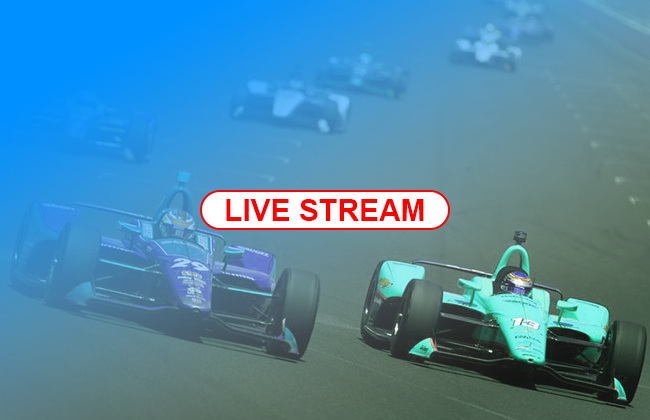 Official Channels for Indy 500 Live Stream